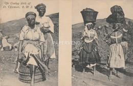 Curacao  ST THOMAS  Coaling Girls  Cao110 - Curaçao