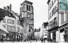 89 - TONNERRE - La Place Du Centre - Tonnerre