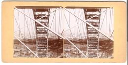 Vue De Grande Roue A Paris -  Von 1900 (S023) - Photos Stéréoscopiques
