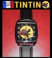 Montre à Quartz NEUVE Bracelet Cuir ! ( Watch ) - Tintin - Montres Modernes