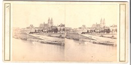 Paris -Seine-Ufer -  La Cathedrale Et Le Cirque  -  Von 1900 (S025) - Stereoscopic