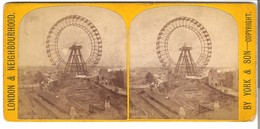 The Great Wheel - Earl's Court  -  Von 1900 (S026) - Photos Stéréoscopiques