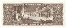 BRAZIL P. 176b 5 C 1962 UNC - Brasil