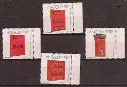 ANGOLA 1994 Letter Boxes - Angola