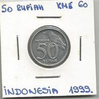 D5 Indonesia 50 Rupiah 1999. KM#60 - Indonésie