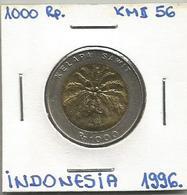 D11 Indonesia 1000 Rupiah 1996. KM#56 - Indonésie