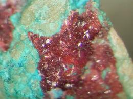 * ERYTHRINE Xls, LAVENDULANE, Grüner Löwe Mine, Imsbach, Pfalz, BRD * - Minerals