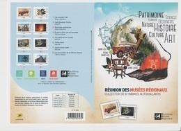 Collector 8 Timbres  La Réunion 2018 , Car Ancien, Café, Volcan, Tortue, Madoi, Volcan, Neuf ** - Reunion Island (1852-1975)
