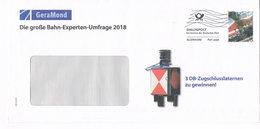 Deutschand Dialogpost 2018  - GeraMond Verlag - Eisenbahn, Diesel Lokomotive - Railway, Spoorweg, Ferrocarril - [7] République Fédérale