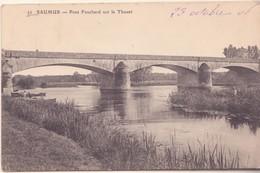 CPA -  32. SAUMUR Pont Fouchard Sur Le Thouet - Saumur