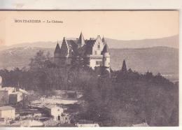 CPA -  MONTDARDIER Le Château - France