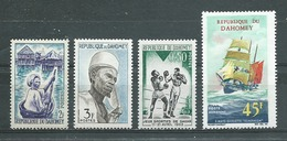 DAHOMEY   Yvert  N° 179 Et 180 **,  N ° 192 * PA N°310 ** - Benin - Dahomey (1960-...)