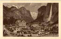 Lauterbrunnen - Hotel Staubbach - BE Berne