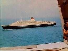 "Russia  NAVE SHIP Alexandr Pushkin"",Balting Shipping Company STAMP  SELO TIMBRE 10 K MOCKBA   VIA DI MARE  GX5535 - Dampfer"