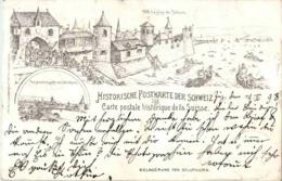 Historische Postkarte Aus Der Schweiz - Belagerung Von Solothurn - Litho - SO Soleure
