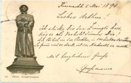 Zürich - Zwingli Denkmal - ZH Zürich