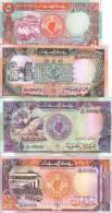 LOT SET SERIE 4 BILLETS Soudan SUDAN POUNDS 1991 NEUF - Soudan