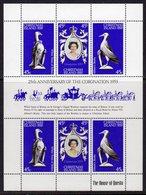 CHRISTMAS ISLAND - 1978 CORONATION ANNIVERSARY SHEETLET (6V) FINE MNH ** SG 96-98 X 2 - Christmas Island