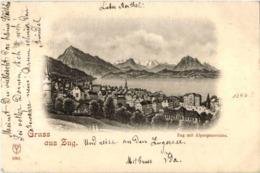Gruss Aus Zug - ZG Zoug