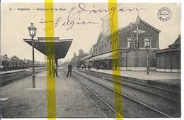 BELGIQUE REGION WALLONNE ENGHIEN EDINGEN GARE CHEMIN DE FER - Enghien - Edingen