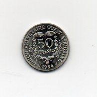 Africa Dell' Ovest - 1984 - 50 Franchi - (Vedi Foto) - (MW1810) - Monete