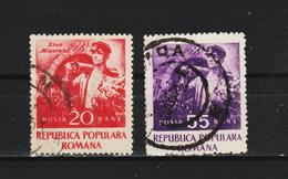 1952 -  JOURNEE DES MINEURS  MI No 1402/1403  (9) - 1948-.... Repúblicas