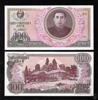 NORTH KOREA Coree Du Nord 100 WON 1978 P22 UNC NEUF - Corée Du Nord