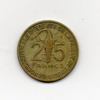 Africa Dell' Ovest - 1971 - 25 Franchi - (Vedi Foto) - (MW1811) - Monete