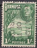 Bermuda 1938 - 52 KGV1  1/-d Grape Bay Paget Parish SG 115 ( L1395 ) - Bermuda