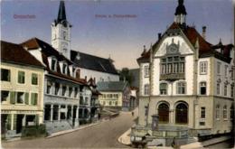 Grenchen - Kirche Und Postgebäude - SO Solothurn