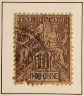 1892 - France (ex-colonies & Protectorats) INDOCHINE Y&T 7 Type Groupe  / Oblitéré - Indochine (1889-1945)