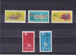 RDA 1962 Yvert 604-608 NEUF** MNH - [6] République Démocratique