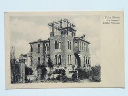 Venezia 47 Lido Villa Elena Via Grimani 1910 - Italie