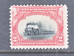 U.S. 295   No Gum    *  TRAIN - Unused Stamps