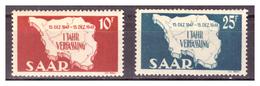 SAAR/SARRE - 1948 - PRIMO ANNIVERSARIO DELLA COSTITUZIONE. SERIE COMPLETA. -  MNH** - 1947-56 Occupazione Alleata