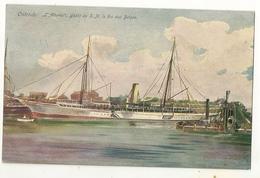 S7122 - Ostende - L' Alberta - Yacht De S.M. Le Roi Des Belges - Barche