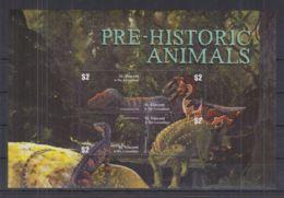D175. St.Vincent & Grenadines - MNH - Nature - Prehistoric Animals - Stamps