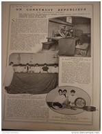 """1908  L' AEROSNAT - ON CONSTRUIT LE DIRIGEABLE """" RÉPUBLIQUE """" MOISSON """" 78 ° - Livres, BD, Revues"""