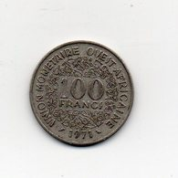 Africa Dell' Ovest - 1971 - 100 Franchi - (Vedi Foto) - (MW1816) - Monete