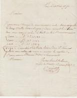 Dépôt De 3 Assignats Pour 6 000 Livres / 1791 / Mathieu BERTRAND Négociant Dentelles Le Puy 43 / Dépôt à Paris ? - Documents Historiques