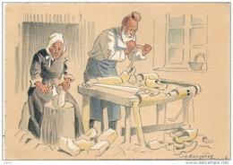 Le Vieux Sabotier - BARRE & DAYEZ -croquis Régionaux - 1942- Illustrateur Bonnefoix - Neuve TTBE - Artisanat