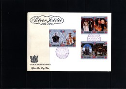 Cook Islands 1977 Silver Jubilee FDC - Cook Islands