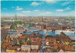Udsigt Over Kobenhavn, View Of Copenhagen, Denmark, 1960s Unused Postcard [22187] - Danemark