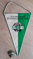 Pennant STFV Steirischer Styrian Football Federation Austria 15x25cm - Habillement, Souvenirs & Autres