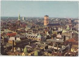 KOBENHAVN, COPENHAGEN, Aerial View, 1964 Used Postcard [22189] - Denmark