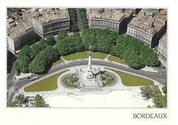 Bordeaux - Place Des Quinconces Et Monument Aux Girondins - Vue Aérienne - Bordeaux