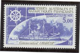 """V2 - TAAF - PA45** MNH De 1976 - Bateau """" COMMANDANDANT CHARCOT """" - Terres Australes Et Antarctiques Françaises (TAAF)"""