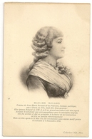 S7132 - Madame Roland Femme De Jean Marie Roland De La Platrière - Personnages