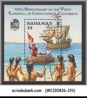 BAHAMAS - 1992 500th ANNIV. OF COLUMBUS ARRIVAL - SHIP - M/S MNH - Bateaux