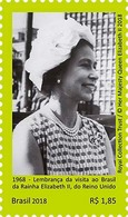 BRAZIL 2018 -  QUEEN ELIZABETH  II  -   MNH - Unused Stamps